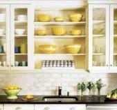 puerta armario cocina con vidrio